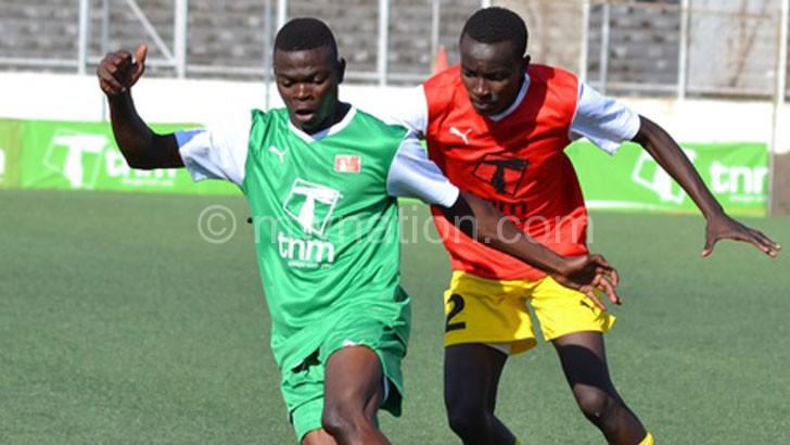 Window of opportunity: Baroka FC is monitoring Mbulu (L)