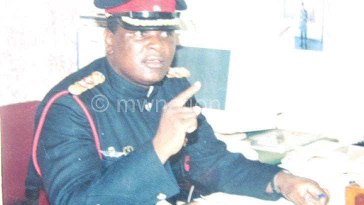 Keeps hope in his soldiers: Namangale