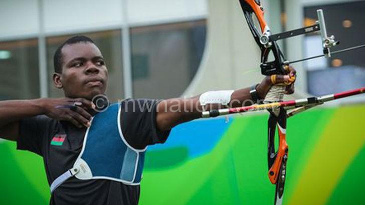 Malawian archer wins gold in Switzerland