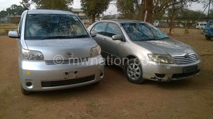 The vehicles have been brought back to Malawi