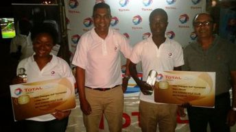 Chisale, Chakaniza  excel in Total Golf