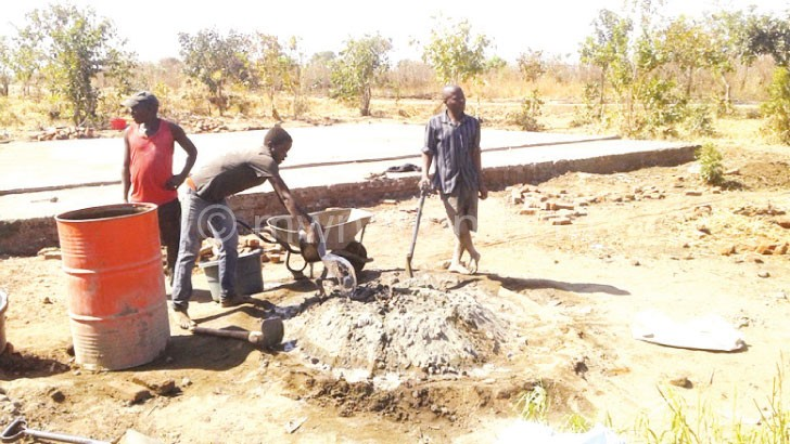 One of the joint projects underway in Salima Central