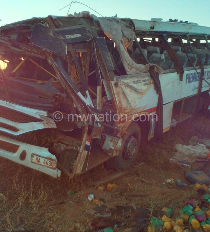 premier bus accident