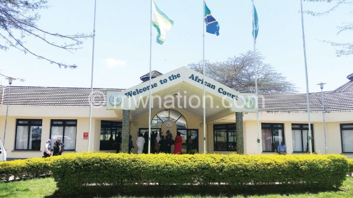 The imposing African Court in Arusha, Tanzania