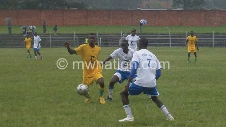 A Super League match in action at Mzuzu Stadium