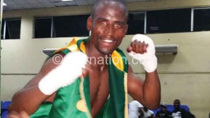 Masamba celebrates his victory