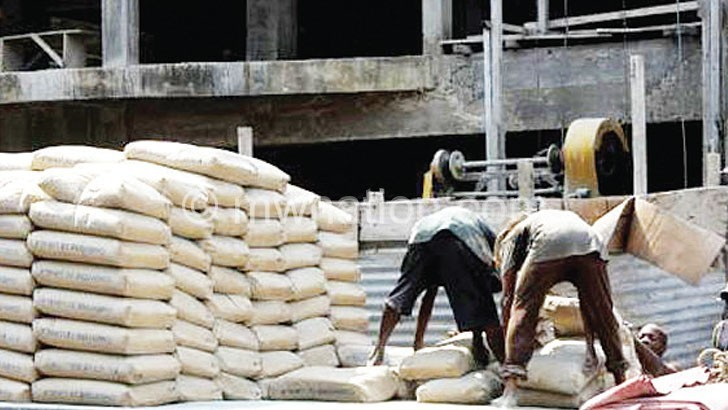 Dangote cement has taken the local market by storm