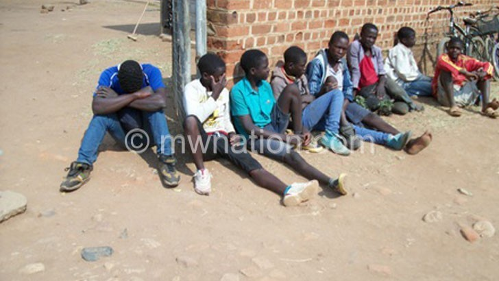 The trafficked children in Phalombe