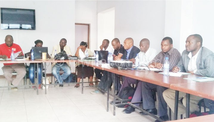 A cross-section of participants during the workshop