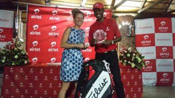 Mwakhwawa, McComb shine in Airtel Golf