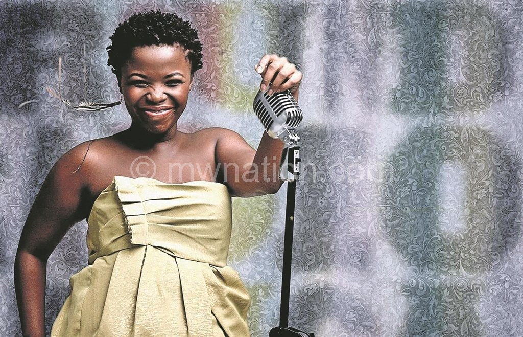 The lead singer with a sweet voice: Zolani