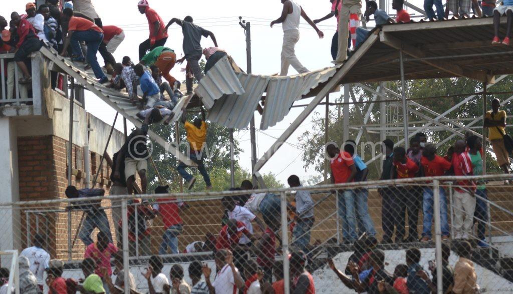 Kamuzu Stadium is crumbling