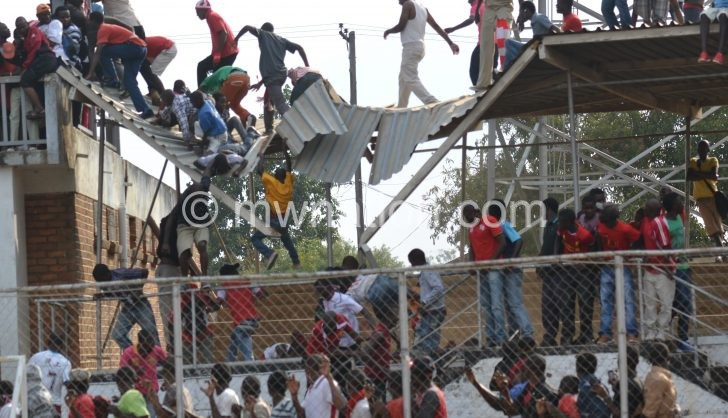 Kamuzu stadium stand roof  e1477733027376 | The Nation Online
