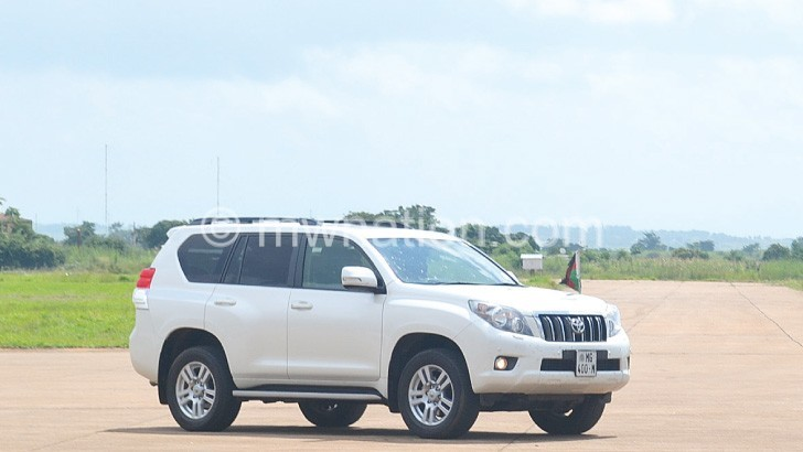 One of the luxury vehicles on the Malawi  Government fleet