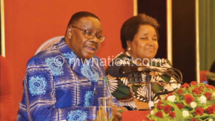 Mutharika: We have stocked enough maize