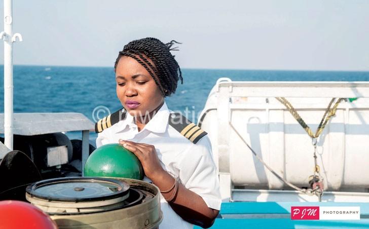 Captain Mponda in the line of duty