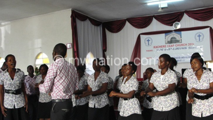 Choirs such as this stand to benefit from the initiative