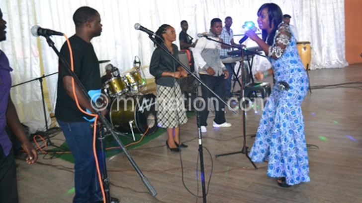 Kamwendo-Banda (R) is expected to perform at the festival