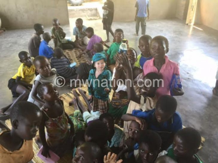 Some of the children under Kwos