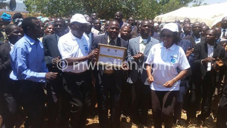 T/A Mwansambo area  declared ODF