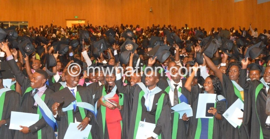 Part of granduants at the graduation CStanley Makuti 2 | The Nation Online