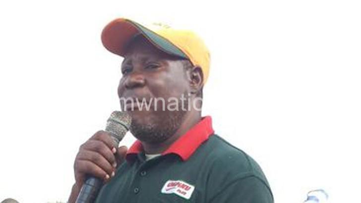 Seeking re-election: Ajawa