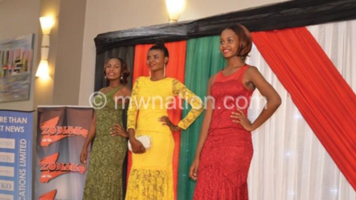 The victorious trio:  (L-R) Mtegha, Nyirenda and Uta