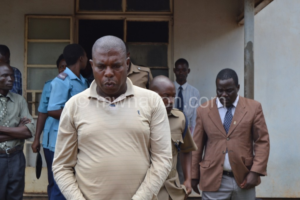 Murekezi leaves the court after his case was adjourned | The Nation Online