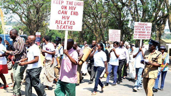 Fighting HIV at Dzaleka