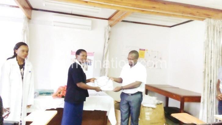 UNFPA donates uniforms to Gogo Chatinkha Maternity Wing