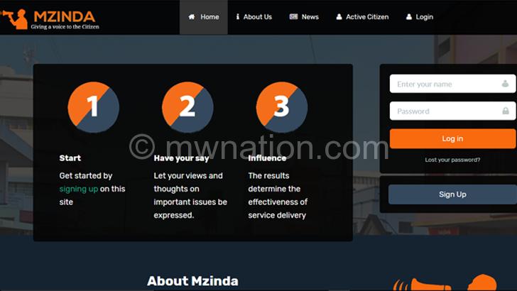mzinda platform | The Nation Online