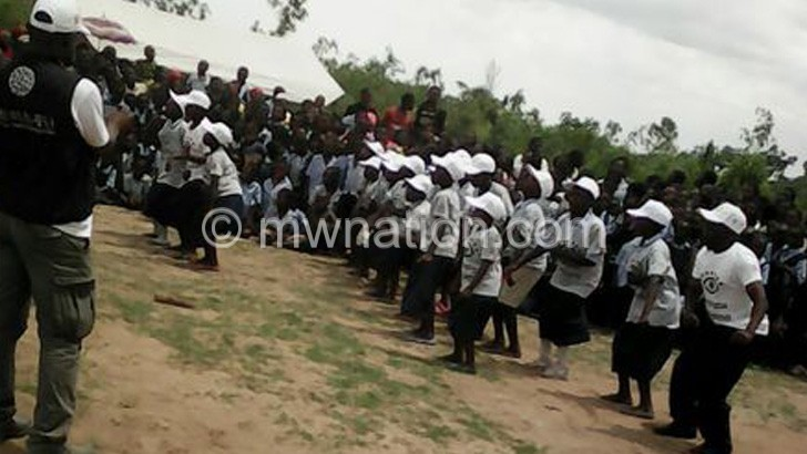 NGO hailed for improving hygiene in schools