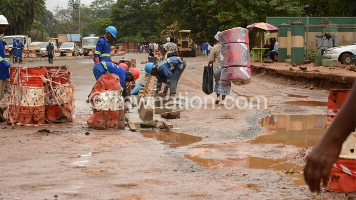 road construction | The Nation Online