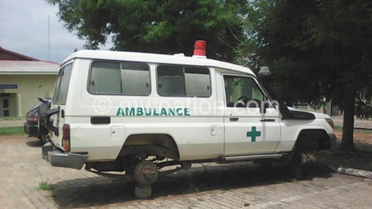 A FAULTY AMBULANCE AT KK HOSPITAL | The Nation Online