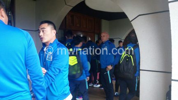 Guangzhou players | The Nation Online