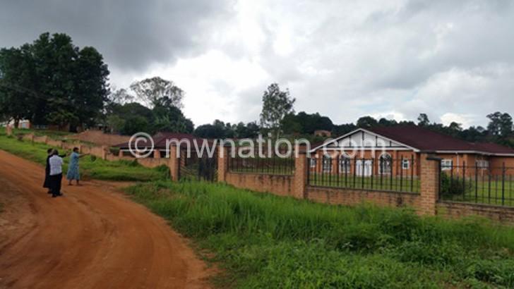 Landson Mhangos house | The Nation Online
