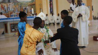 Catholic children celebrate Sunday of Epiphany