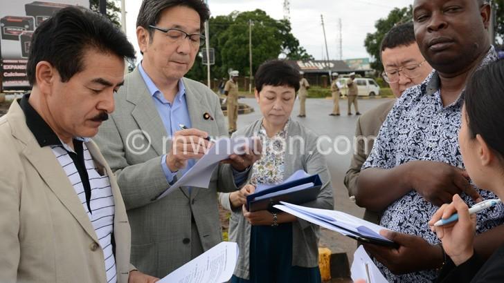 Japanese officials hail Masauko  Chipembere Highway progress