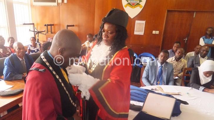 Zomba Mayor | The Nation Online