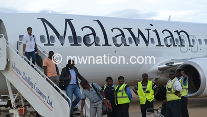 air malawi | The Nation Online