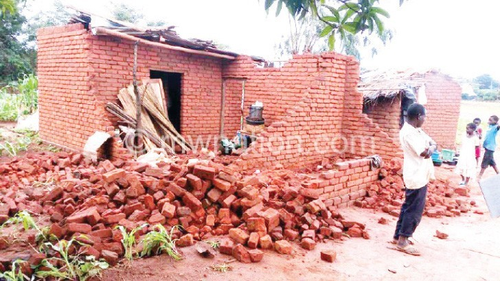 fallen house | The Nation Online