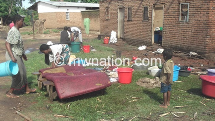 Heavy winds displace hundreds in Karonga
