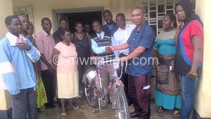 recieved bicycle   The Nation Online