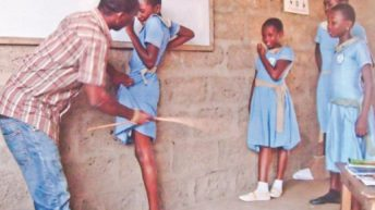 That act of corporal punishment