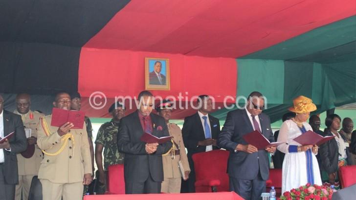 Seek God's guidance in national defence, APM tells MDF