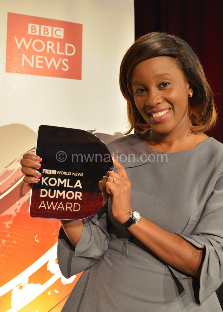 didi akinyelure komla dumor award 3 | The Nation Online