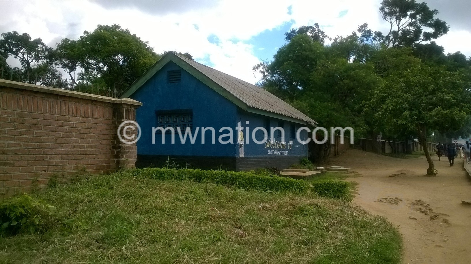 A paying toilet at the Gennery Corner | The Nation Online
