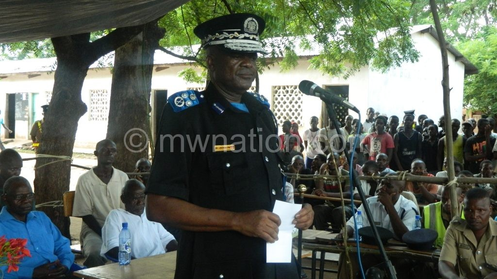Kachama speaking after visiting the homes of the two boys1 | The Nation Online