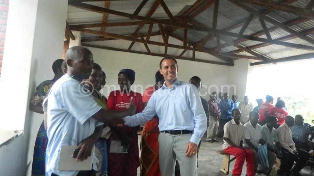 Navarro interacting with communities at TA Kaduya | The Nation Online