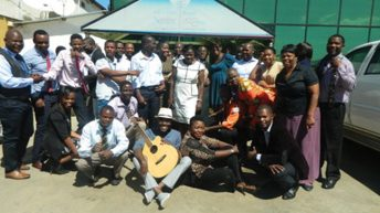 Power of music: Namadingo uses his guitar to change lives